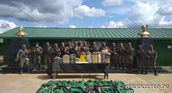 Fuerzas Armadas incautan 225 kilos de clorhidrato de cocaína en Satipo, Junín - Diario Correo
