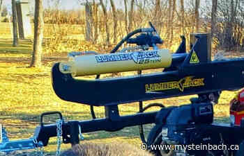 Log splitter stolen from Ste. Anne property, RCMP looking for suspects Posted - mySteinbach.ca