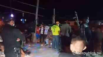 Lambayeque: intervienen a 40 personas que participaban en fiesta en Jayanca LRND - LaRepública.pe