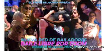 Nueva Red de Bailadores, Baile Libre por Zoom - Revista Marvin