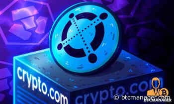 Crypto.com Announces Support for Elrond Network's ERD Token Transfers   BTCMANAGER - BTCMANAGER