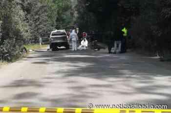 Motociclista arrollado por vehículo en la vía Lenguazaque – Ubaté, Cundinamarca - Noticias Día a Día