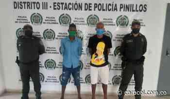 Capturados presuntos autores de un homicidio en Pinillos, Bolívar - Caracol Radio