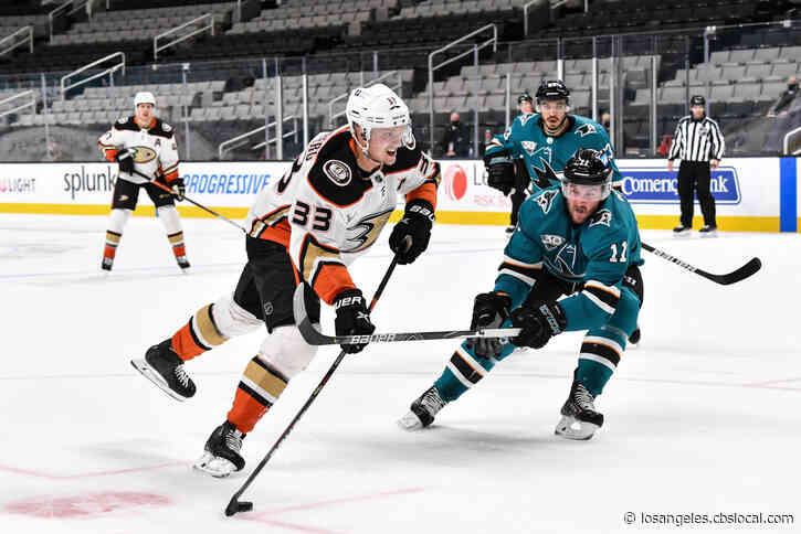 Sharks Beat Ducks 3-2 For 2nd Regulation Win Of Season