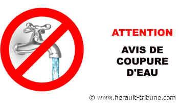 PEZENAS - Travaux de réparation sur le réseau d'eau : coupure dans la nuit du mercredi 17 au jeudi 18 février 2021 - Hérault-Tribune