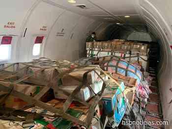 Fuerza Aérea Colombiana continua transportando ayudas humanitarias hacia Puerto Inírida - HSB Noticias