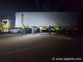 Se hicieron pasar por policías para robar mercancía en Puerto Salgar - La Patria.com