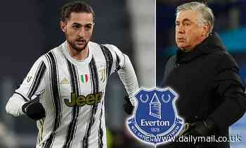 Adrien Rabiot to Everton? Carlo Ancelotti will 'try to sign' Juventus star in the summer