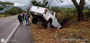 Dos accidentes se presentaron esta mañana en la vía Hobo – Gigante - Diario del Huila