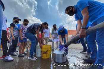 Con cisternas resuelven crisis de agua en Mosquera, Funza y Madrid, Cundinamarca - Noticias Día a Día