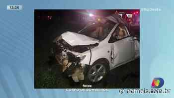 Palmitos: Duas pessoas ficam feridas em acidente de trânsito - ND Mais