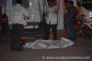 Ciclista murió arrollado por una moto en la vía Guamo - San Luis - Ecos del Combeima