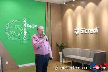 Sicredi inaugura agência em Muzambinho com a presença de Milton Neves - Eventos - Terceiro Tempo - Terceiro Tempo - Milton Neves