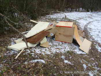 Illegale Müllentsorgung bei Stadtkyll - Eifel - Zeitung - Eifel Zeitung