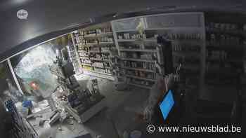 Uitbater apotheek ziet hoe ramkrakers aan de haal gaan met kassa
