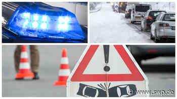 Polizei Filderstadt: Stau nach Unfall mit Sattelzug auf B312 zwischen Neckartailfingen und Aichtal - SWP