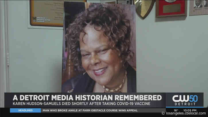Beloved Detroit Media Icon Dies Day After Getting COVID Vaccine; Autopsy To Determine Cause