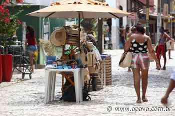 Domingo de Carnaval em Aracati: pouco movimento e barreiras seguem - O POVO