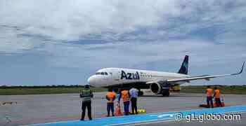 Aeroporto de Aracati, no Ceará, recebe primeiro pouso de um Airbus A320Neo - G1