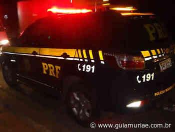 Carro roubado em Espera Feliz é recuperado pela PRF em Muriaé - Guia Muriaé