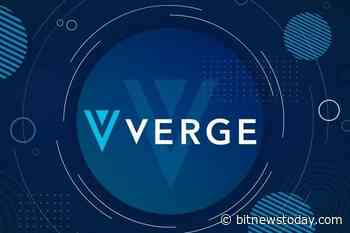 Verge (XVG) Has Undergone One Of The Deepest Reorganizations Of The Leading Blockchain To - https://bitnewstoday.com/