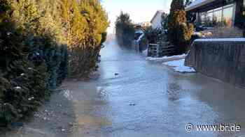 Wasserrohrbruch: Menschen in Herrsching haben wieder Trinkwasser - BR24