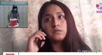 Joven asegura sentirse humillada al ser obligada por la Policía a posar con su torta de cumpleaños tras ser intervenida - Diario Perú21
