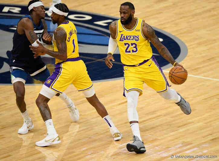 James, Lakers, Minus Davis, Fend Off Timberwolves 112-104