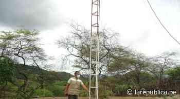 Ayabaca: realizan mantenimiento de antenas para conexión a Aprendo en Casa | LRND - LaRepública.pe