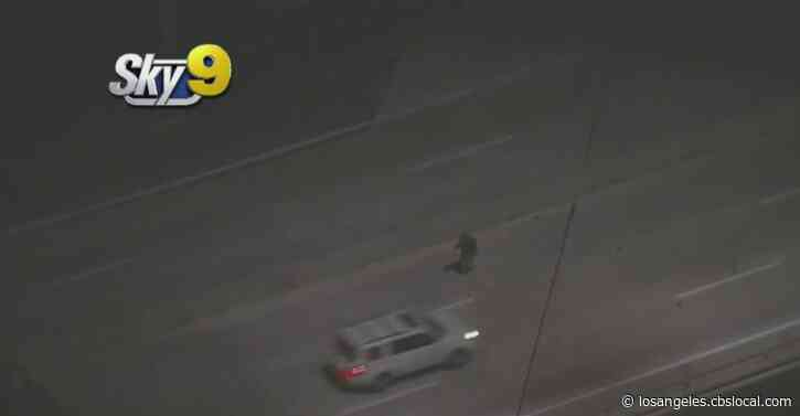 LAPD Pursuit Of Suspected Stolen Vehicle Ends In Del Rey With Driver In Custody