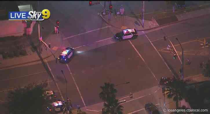 LA Sheriff's Deputies Shoot At Allegedly Armed Person In City Of Industry