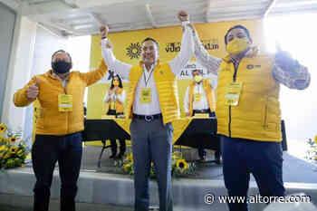 PRD Michoacán toma protesta a Carlos Herrera Tello como su candidato a la gubernatura - Altorre
