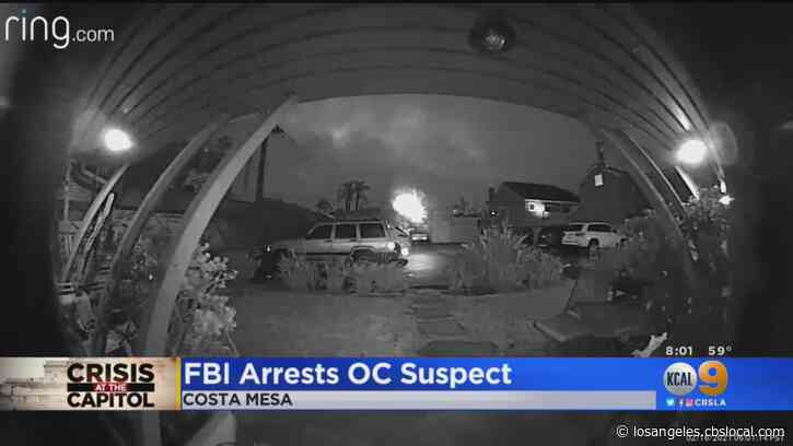 FBI Arrests Costa Mesa Man Christian Secor Charged In US Capitol Riot