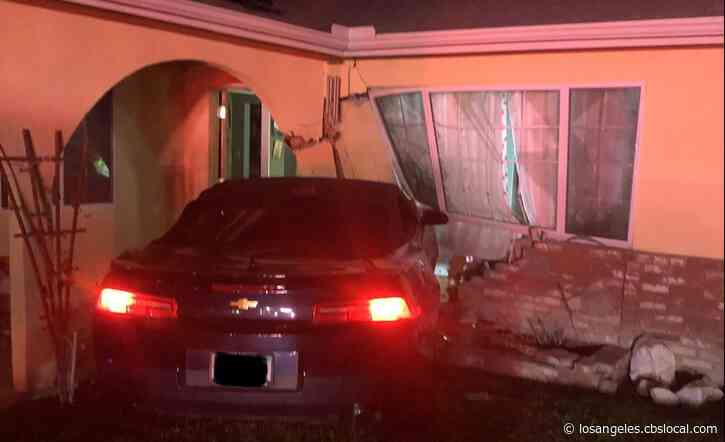 25-Year-Old Arrested On Suspicion Of DUI After Crashing Into Simi Valley Home