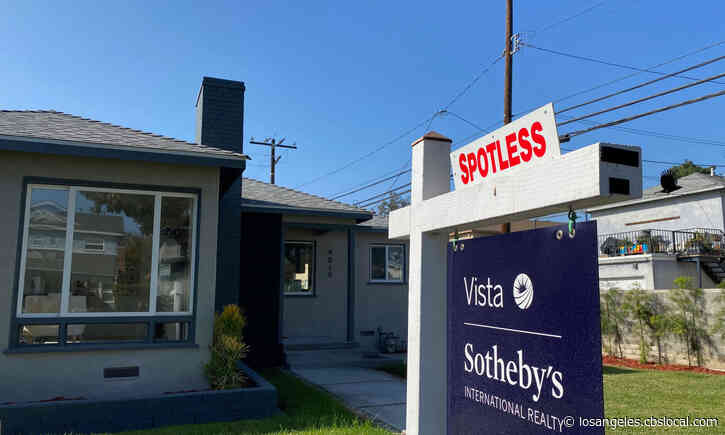 California Real Estate Market Booming Even As COVID-19 Pandemic Continues