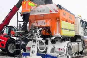 Hainichen: Räumfahrzeug fällt nach Unfall bis zum Frühjahr aus - Freie Presse
