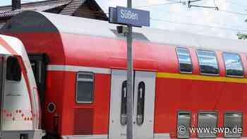 Feuerwehr Süßen/Salach: Brand auf Bahnstrecke zwischen Stuttgart und Ulm: Lok fängt Feuer - SWP