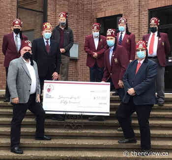 Lachute Shriners donate $50000 to Shriners hospital - The Review Newspaper