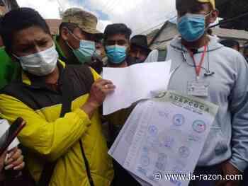 Fallo judicial ahonda conflicto en Adepcoca, Lluta amenaza con bloqueo - La Razón (Bolivia)