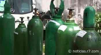 Prefeito pede ajuda por cilindros de oxigênio em Monte Carmelo (MG) - R7.COM