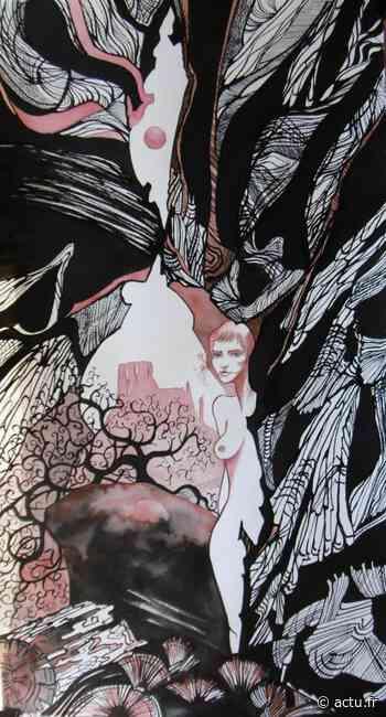 Les Andelys. Les tableaux de Françoise Baron illustrent des contes en vidéo - actu.fr