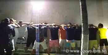 Polícia flagra festa clandestina com mais de 150 pessoas em Aquiraz - O POVO