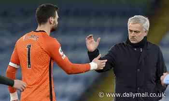 Tottenham boss Jose Mourinho jumps to the defence of under-fire goalkeeper Hugo Lloris