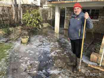 Yvelines. Vaux-sur-Seine : après la crue, la glace - actu.fr