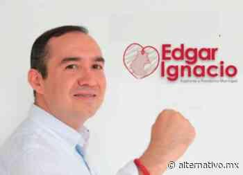 Edgar Ignacio se registra a la candidatura de Morena en Tixtla - Alternativo.MX