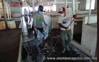 Cierran mercado de Llano Largo para su sanitización - El Sol de Acapulco