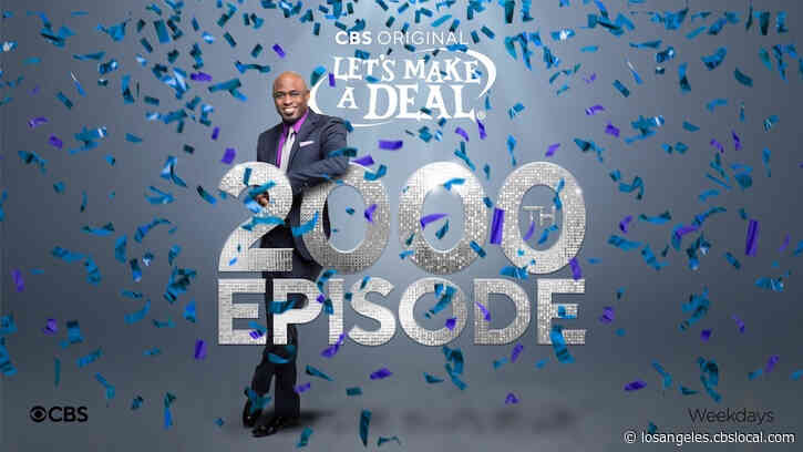 Wayne Brady To Host 'Let's Make A Deal's 2,000th Episode On February 19th