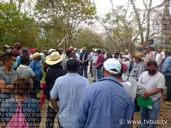 Conflicto agrario en Chiltepec, retrasa pavimentación de camino a El Naranjal - TV BUS Canal de comunicación urbana