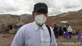Puno: asociaciones Ananahui y Alto Huayna Pucara, piden agua, desagüe y electrificación - Pachamama radio 850 AM