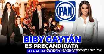 Nacionalhace 7 min . Biby Gaytán es precandidata a la alcaldía de Ocoyoacac por PAN - Vanguardia de Veracruz